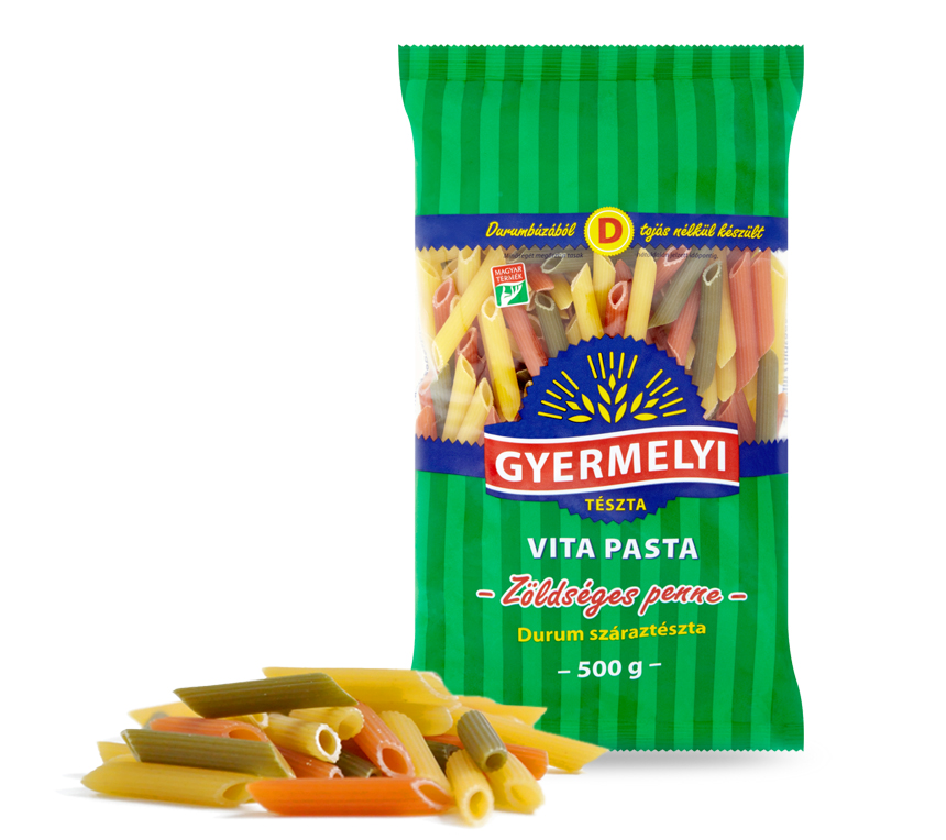 Gyermelyi Vita Pasta Durum Zöldséges penne