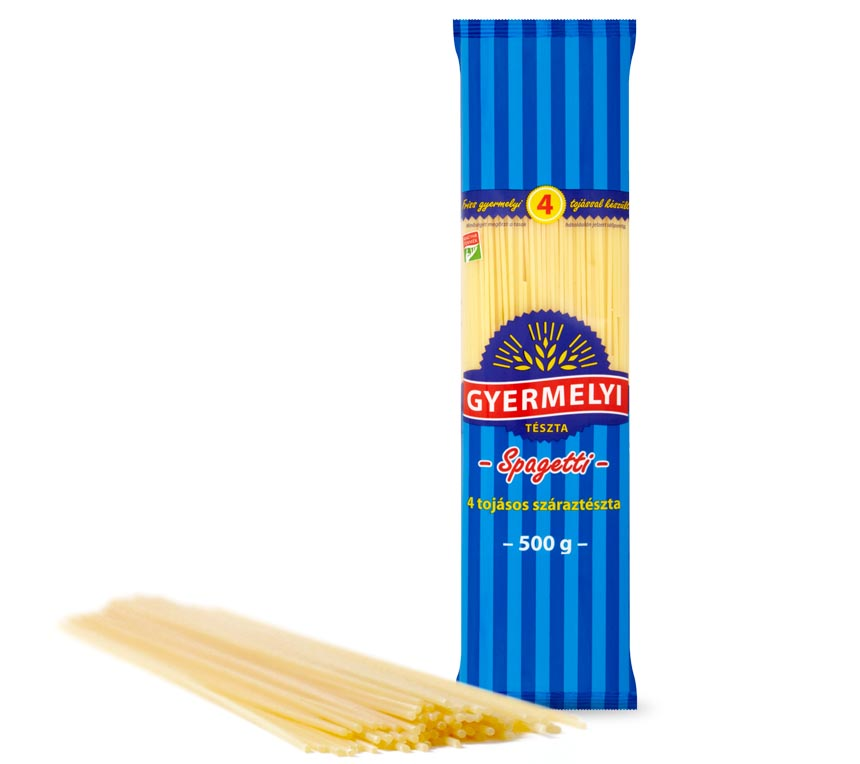 Gyermelyi 4 tojásos spagetti
