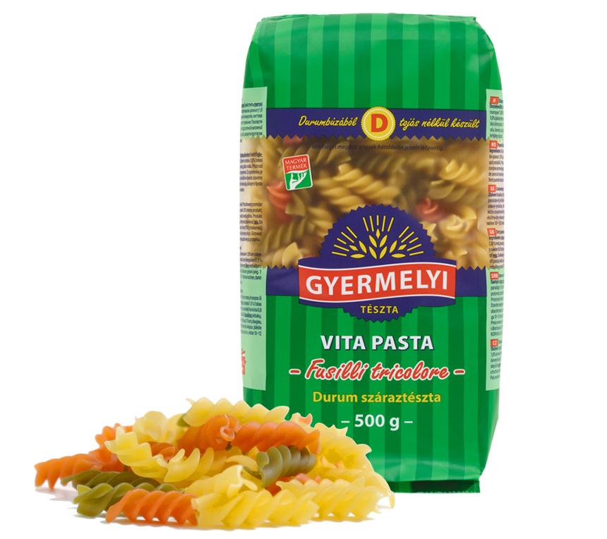 Gyermelyi Vita Pasta Fusilli tricolore
